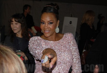 "Vivica A. Fox, ""Dancing with the Stars"", season 3 at Hollywood Christmas Parade."