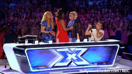 Memorable X FACTOR Moment - Simon said he also likes big butts, and put Keith through!