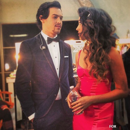 X Factor USA Alex and Sierra