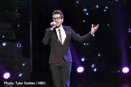 THE VOICE Will Champlin blind audition