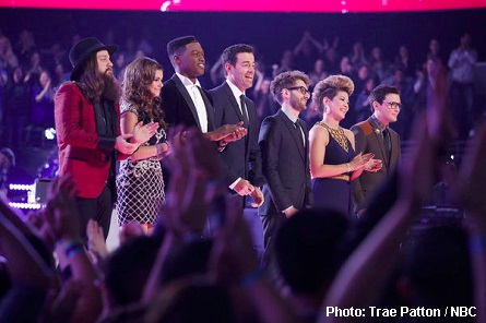 The Voice Top 6, Carson Daly