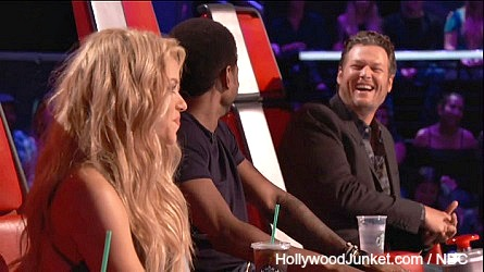 The Voice, Shakira, Usher, Blake