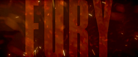 Fury film banner