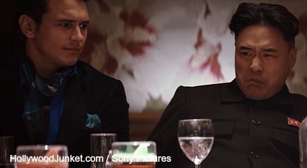 The Interview dinner, James Franco, Randall Park