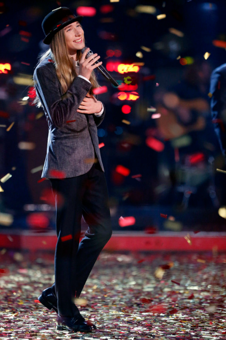 The Voice season 8 winner Sawyer Fredericks
