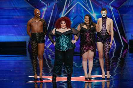 AGT drag queens