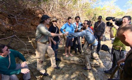 The Island cameramen
