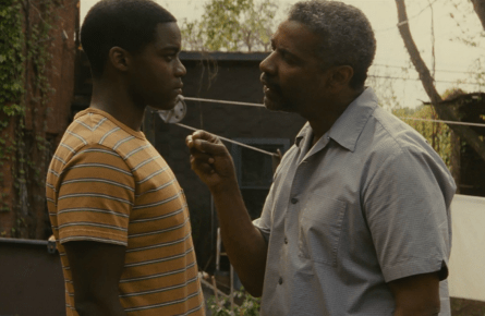 Fences movie, Denzel Washington, Jovan Adepo