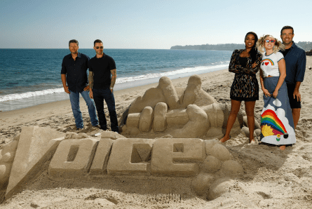 The Voice 13 coaches and host