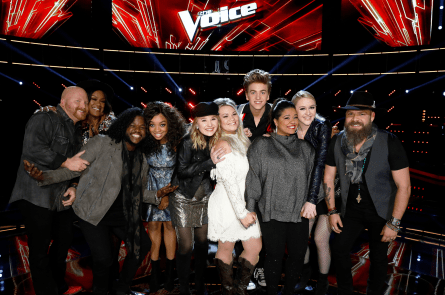 The Voice 13 Results Show Top 10