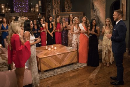 The Bachelor 2019, Colton Underwood, first cocktail party