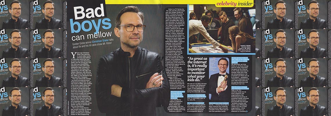 Bad Boys Can Mellow  &#8211; Christian Slater </br>TV Soap
