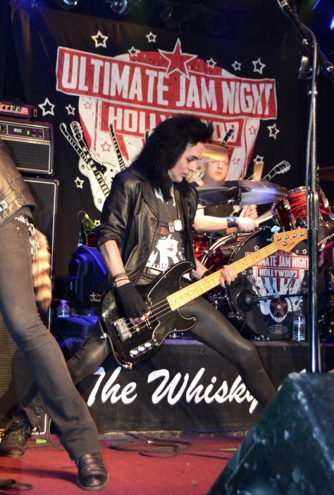 Jamming at the Whisky A Go Go, photo by Judy Hansen Pullos