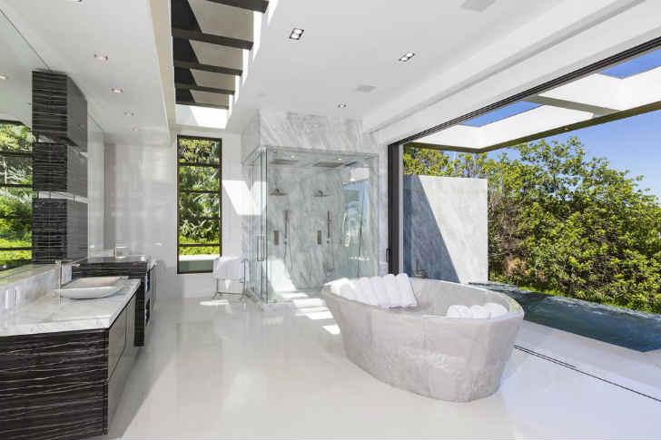 デザイナーハウス 風呂