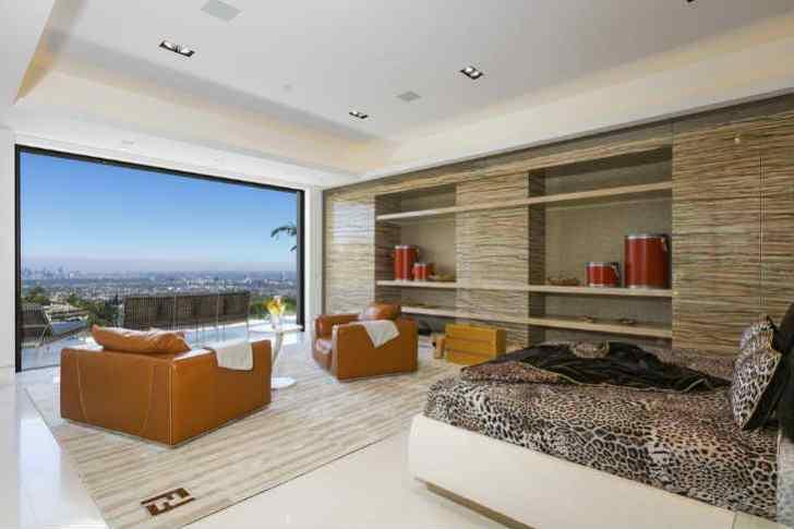 デザイナーハウス 寝室
