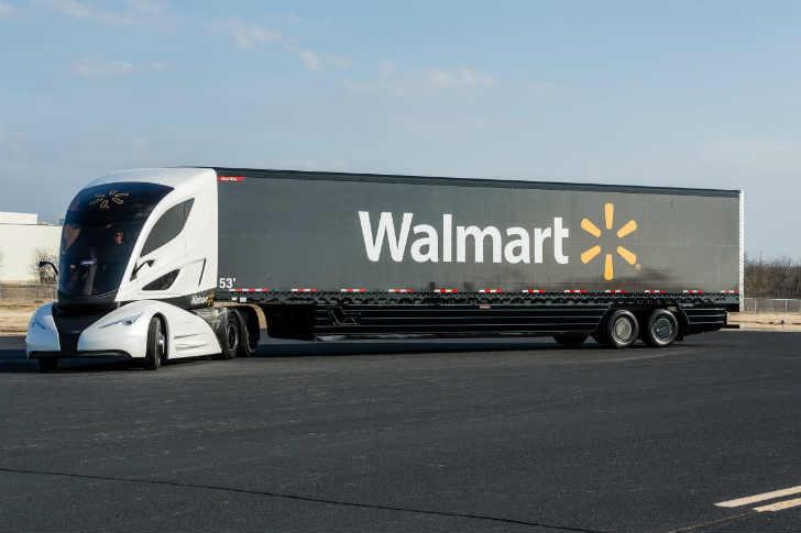 ウォルマート 新型トラック