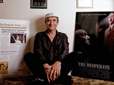"""Ben-Hur Sepehr debuts his award winning short film: """"The Desperate"""""""