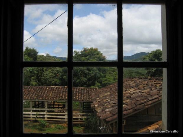 Janela da cozinha da Fazenda Geraldo da Costa Carvalho