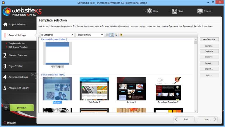 WebSite X5 Professional14.0.4.1 Beta