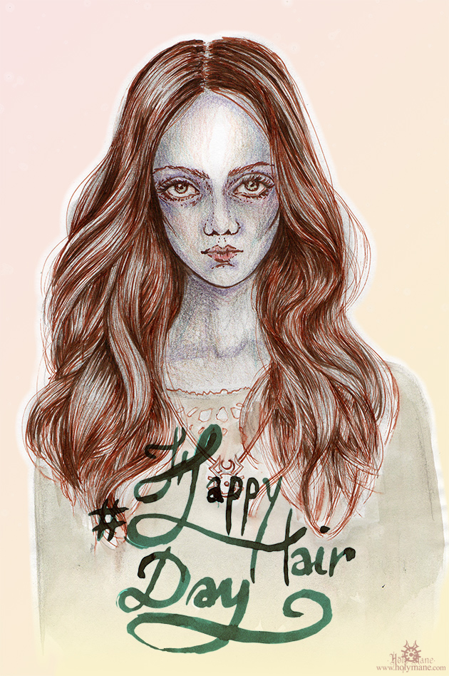 illustration beauté Holy Mane cheveux
