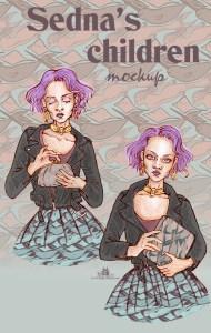 "Fashion illustration ""accessoires Sedna"""