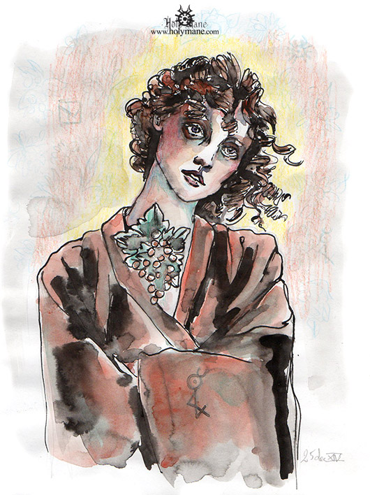 14-12_femme-aux-boucles-et-collier-vigne