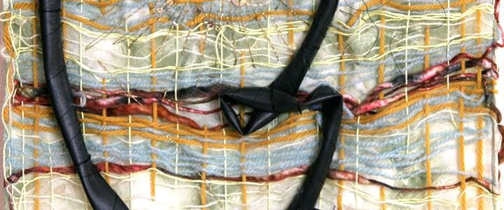Art textile «visage de chambre»