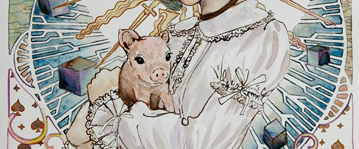 Illustration – Little piggy