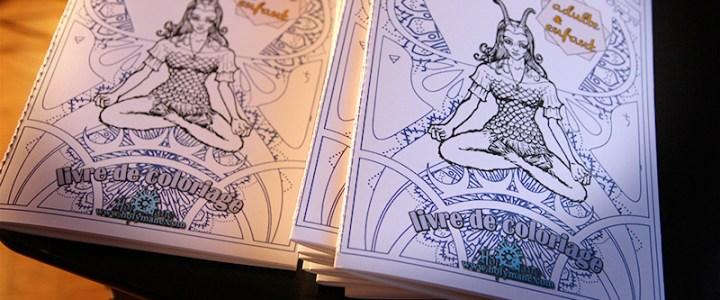 Prochainement – stand et livre de coloriage Astrologie