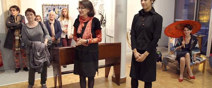 Art textile – exposition Rêves d'Orient