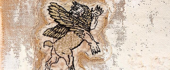Art textile inspiré par la Mésopotamie I