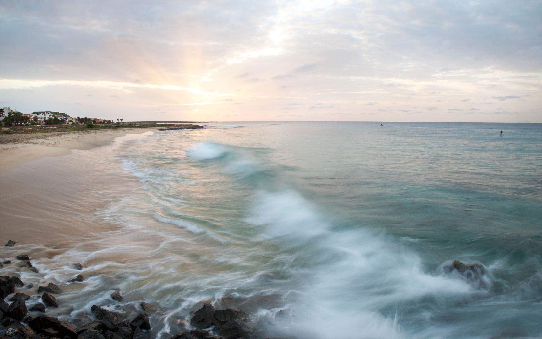 landschap-zee-Kaapverdie-schoon