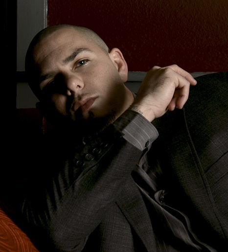 Pitbull photographed exclusively for HOMBRE Magazine by Keith Williams