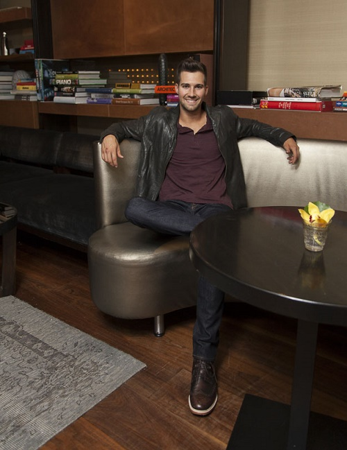 James Maslow photographed exclusively for HOMBRE Magazine by Paul Tirado 2