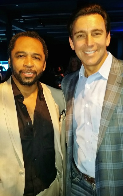 Ford Motor Company President & CEO Mark Fields with HOMBRE Magazine's Publisher Francisco Romeo