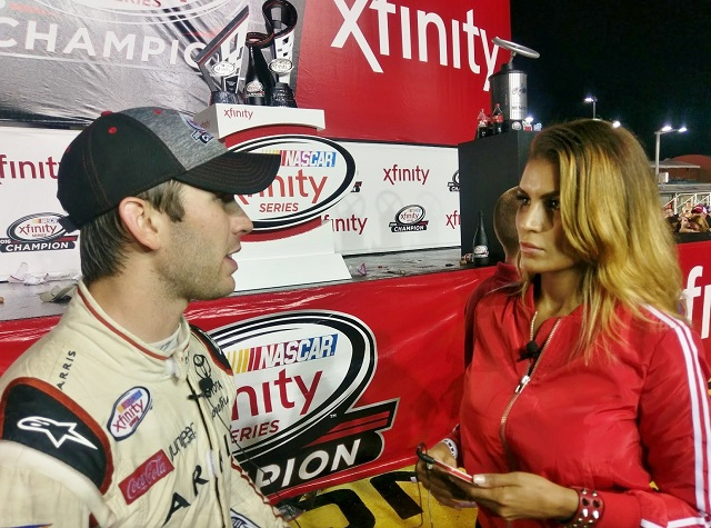 Jazmin Ivy Rodriguez during our exclusive interview with Daniel Suarez