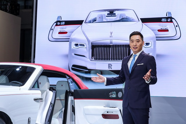 Leon Li director of Rolls Royce China