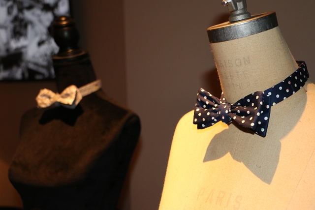 The Gregory Hotel x General Knot & Co. bowties on mannequins (Copy)