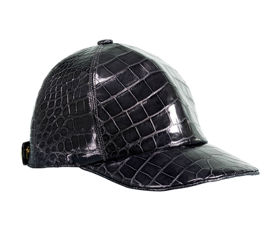 HOMBRE Magazine Father's Day Gift Guide LUX 13 black-alligator-hat-1 (Copy)