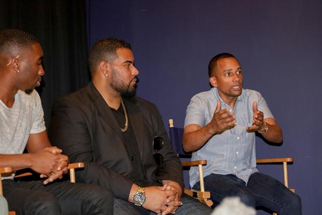 Demetrius Ship Jr, Dominic Santana and Hill Harper