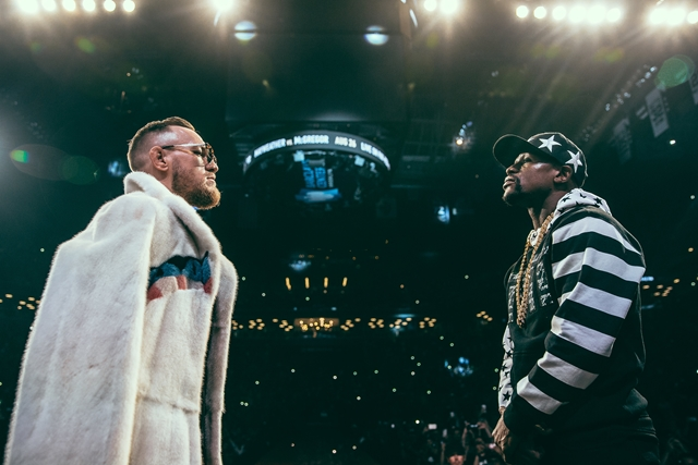 1_Mayweather_vs_McGregor_WorldTour_NY (Copy)photographed by Rosie Cohe SHOWTIME (Copy) HOMBRE Magazine