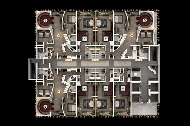 yoo Santo Domingo for HOMBRE Magazine Simples - Buddha - Planta Tipo Apartamentos (Copy)