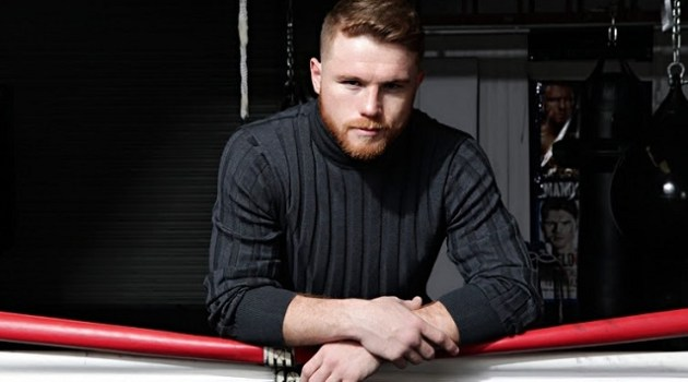 Saul Canelo Alvarez photographed exclusively for HOMBRE by John Hong