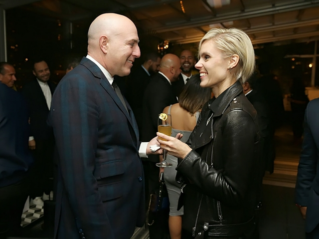 Group Advertising Director at Hearst Magazines James D'Adamo and Megan Key