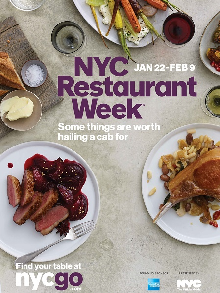 ny restaurant week - HOMBRE Magazine