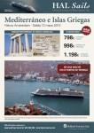 Ven de crucero por Grecia e Italia