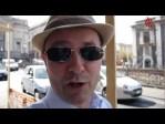 Sobreviviendo a la basura y los coches en el anfiteatro Romano de Catania en plena Sicilia