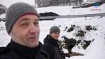 León nevado, paseo por Prioro