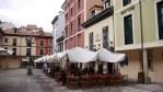 Plaza del Fontán, junto al Mercado del Fontán, en Oviedo, Asturias