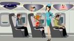 Dormir en el avión con un cojín en la cara, la nueva idea de Boeing